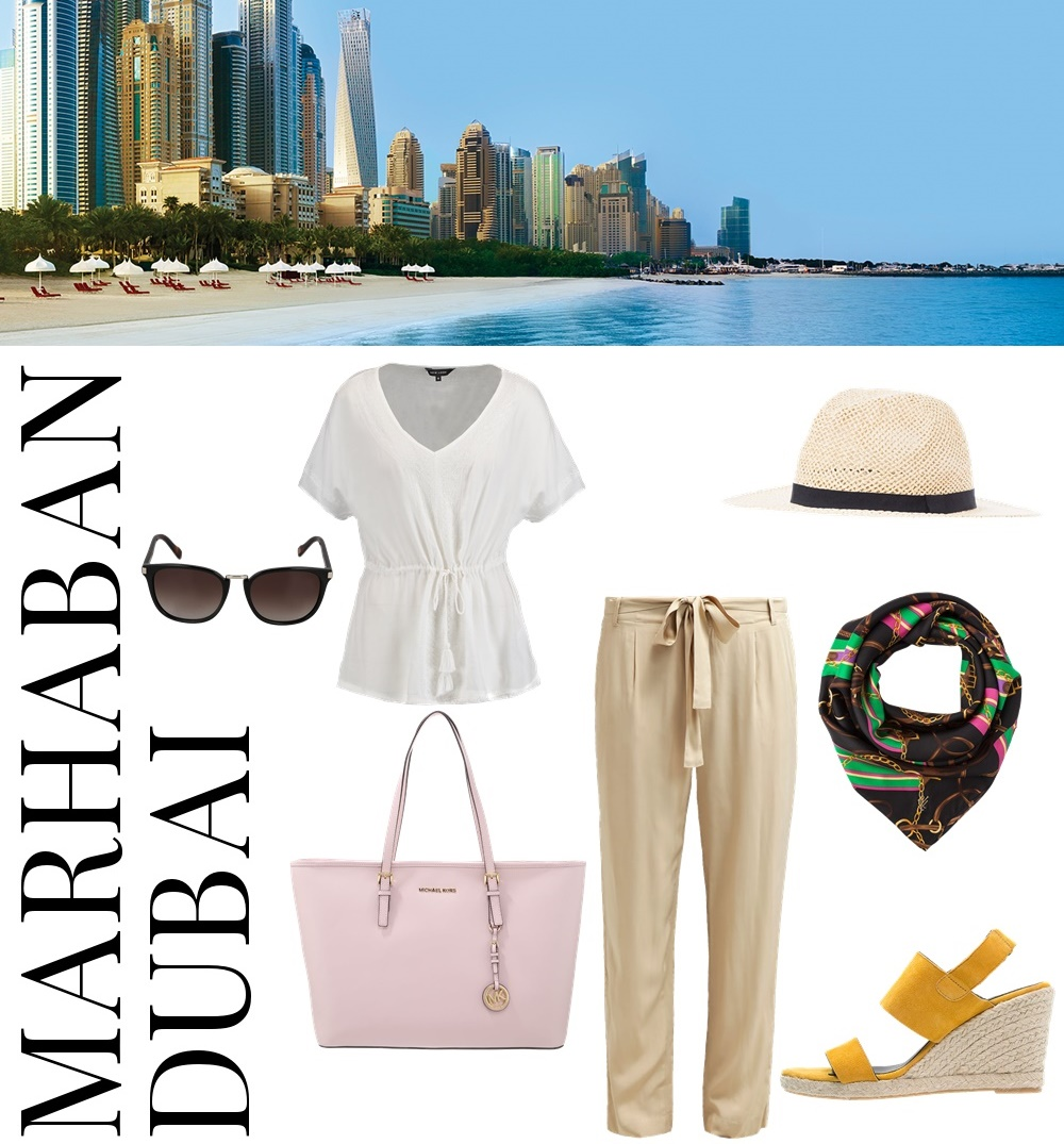3 different Styles for 3 different vacation destinations... Marhaban Dubai - perfect outfit and style for your Dubai Vacation