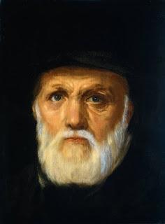 Dirck Volkertsz. Coornhert, portret door Cornelis Cornelisz van Haarlem