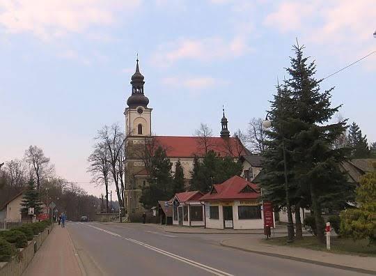 Kościół pw. św. Mikołaja Biskupa w Żegocinie.