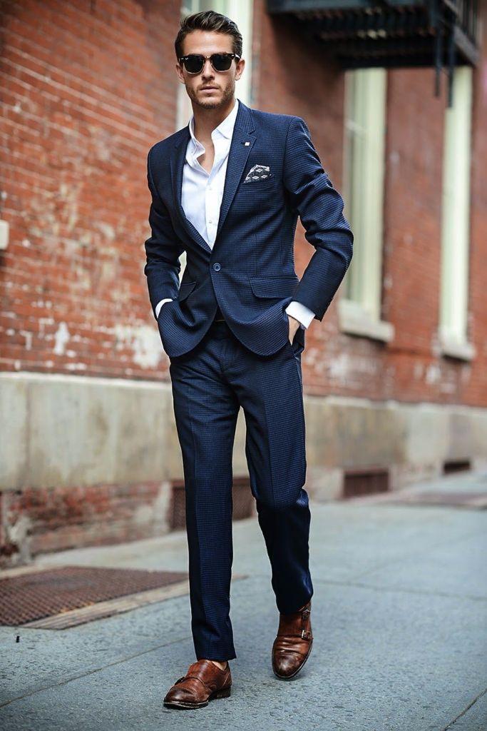 0e599b13f Macho Moda - Blog de Moda Masculina  Terno Azul Masculino