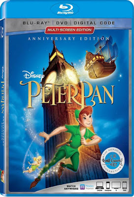 Peter Pan 1953 Anniversary Edition The Signature Collection BD25 Latino