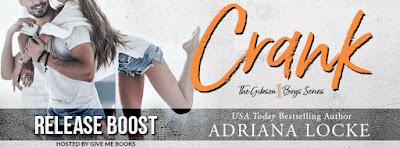 Crank by Adriana Locke Release Boost