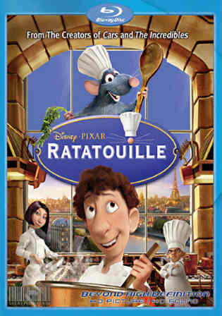 Ratatouille 2007 BluRay 350MB Hindi Dual Audio ORG 480p ESub