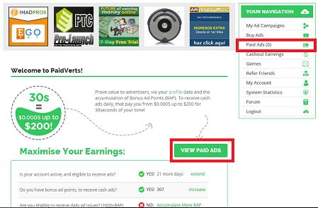 ganar dinero con paidverts