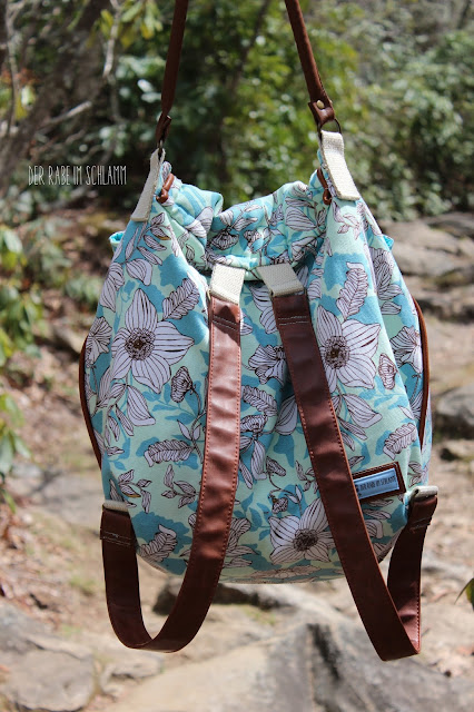 Der Rabe im Schlamm, Rucksack Hope, Canvas Cultivate, Bonnie Christine, Art Gallery Fabrics, Nähen, Sewing