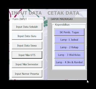 Aplikasi Database Sekolah Otomatis Terbaru 2017-2018