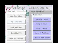 Aplikasi Database Sekolah Otomatis Terbaru 2016-2017