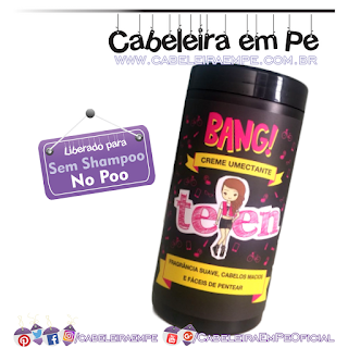 Creme umectante Teen Bang - Tutanat (No Poo)