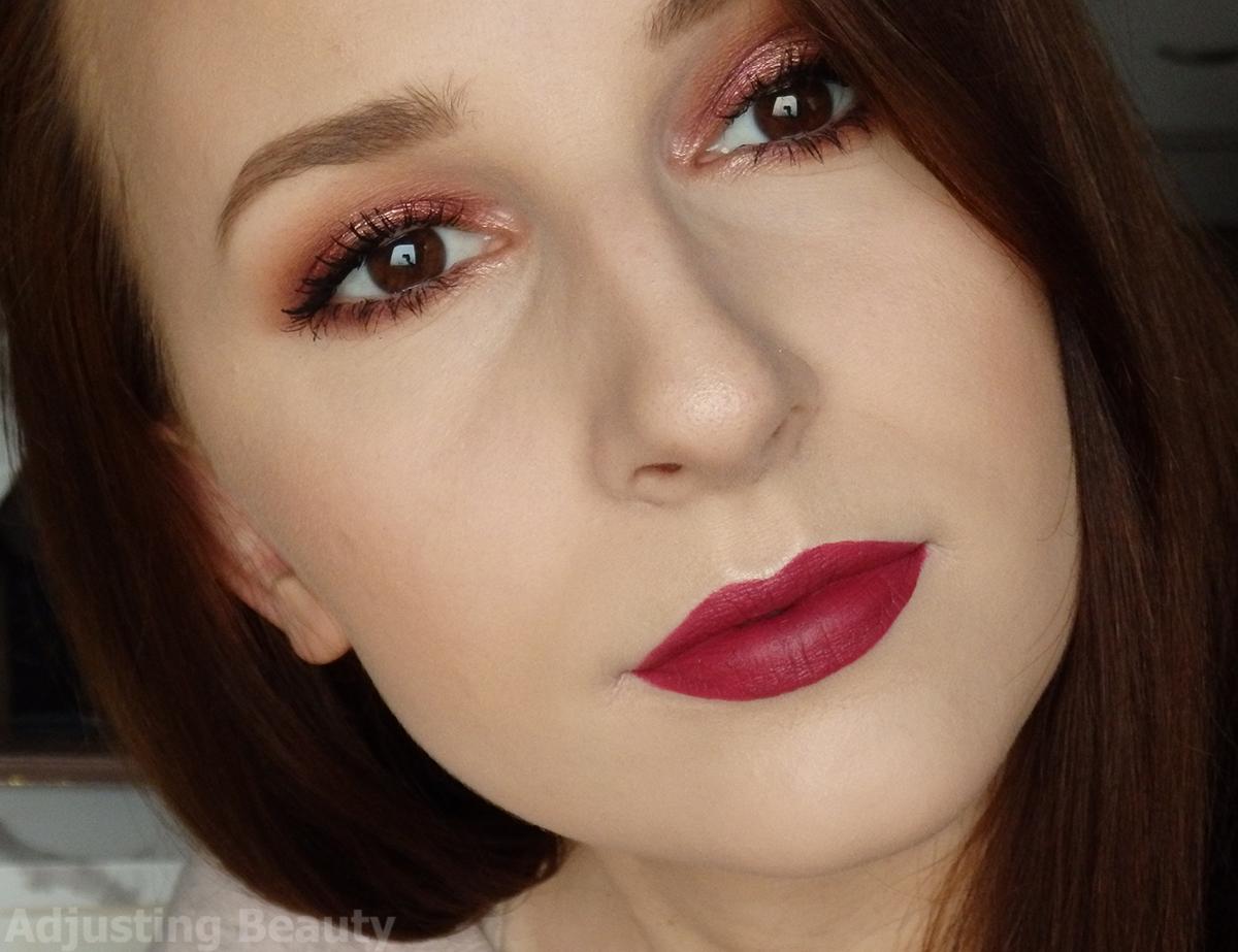 Valentines Vixen Makeup Adjusting Beauty