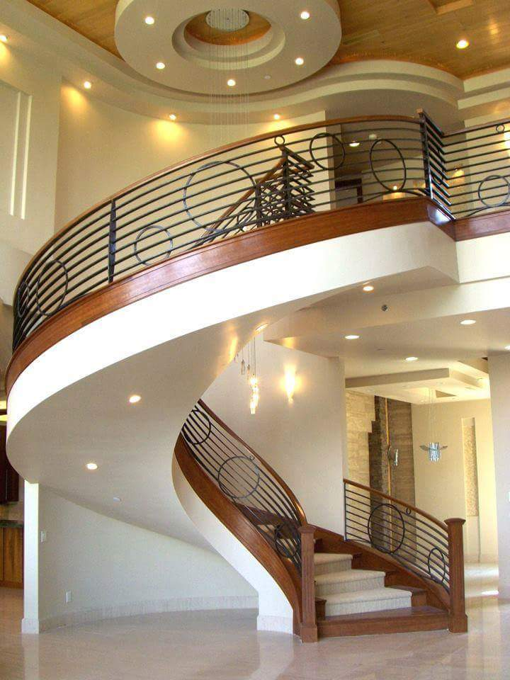 There are may stairs design to choose when you are building your two story dream house and for sure one of these Elegant style stairs design is your choice for your perfect home.