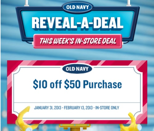 Like Old Navy coupons? Try these...