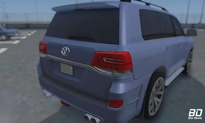 Download mod carro SUV Toyota Land Cruiser 200 para GTA San Andreas, Jogo GTA SA PC