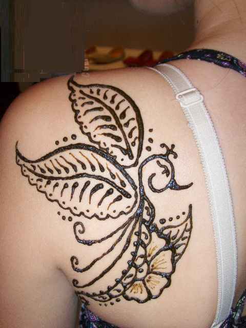 Temporary Tattoo Ink Like Henna: Temporary Henna Tattoos-An Alternative To Permanent