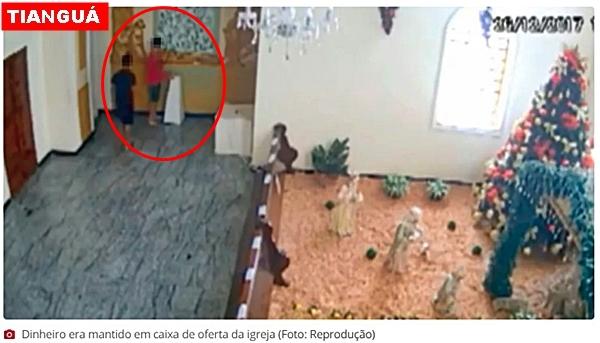 Polícia investiga furto de dinheiro de oferta de igreja no Ceará