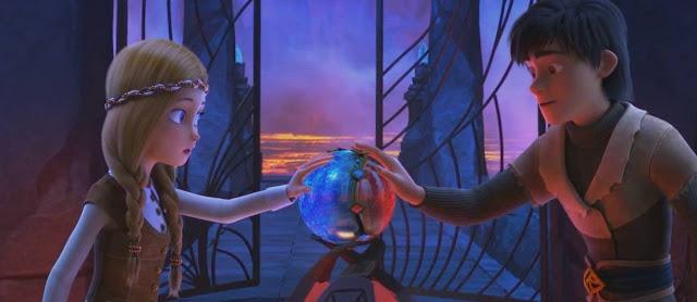 O reino gelado, fogo e gelo, uma garota chamada sam