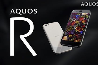 AQUOS R SMARTPHONE PREMIUM DENGAN KAMERA 22.6MP