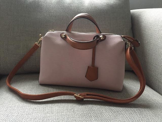 What's in my bag, Tasche aus Marroca, Zara