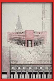 Taccuini Internazionali Mostra di disegni di Aldo Rossi alla galleria Jannone di Milano
