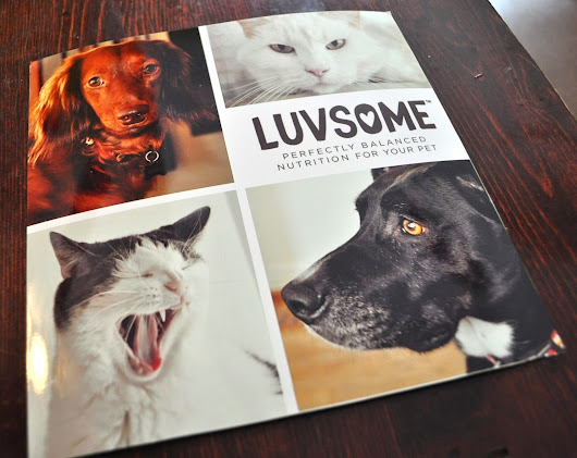 Product Review + Giveaway!: Luvsome Balanced Nutrition for Dogs & Cats