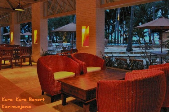 restaurant kura kura resort karimunjawa