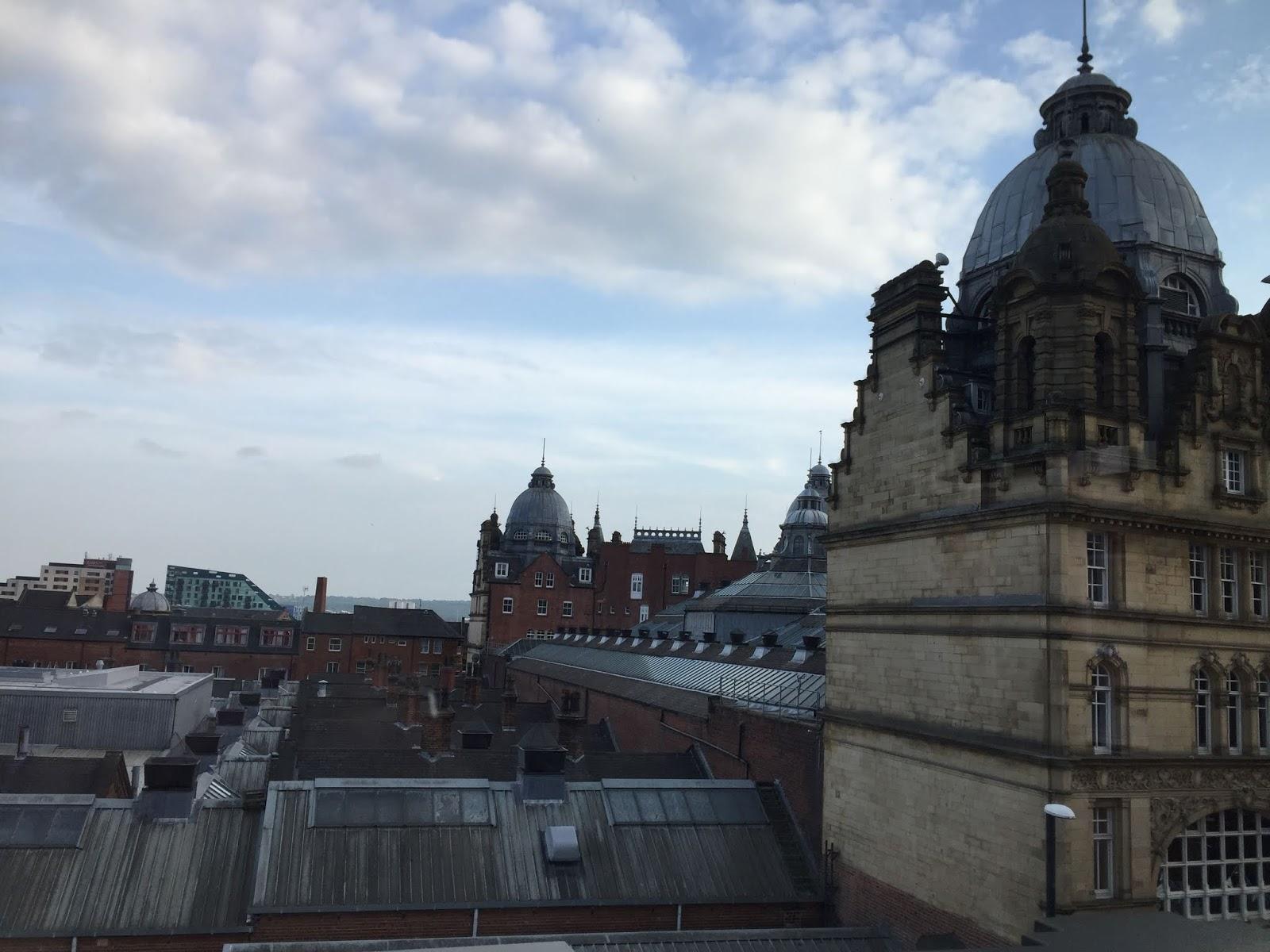 Leeds market view