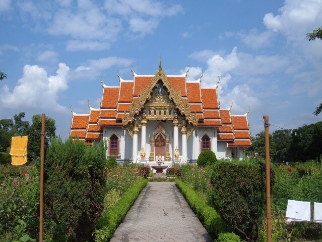 Thai Buddhist Temple in Bodhgaya