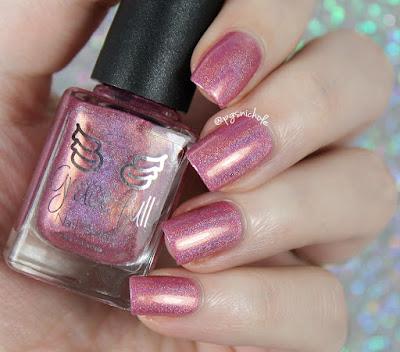 Grace-Full Nail Polish Deep Rose Blush | Delicate Neutrals