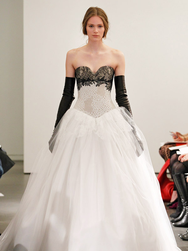 a7ca77178be2 Black/White-Vera Wang 2014 Wedding Dresses Collection | Designer Wedding  Gowns