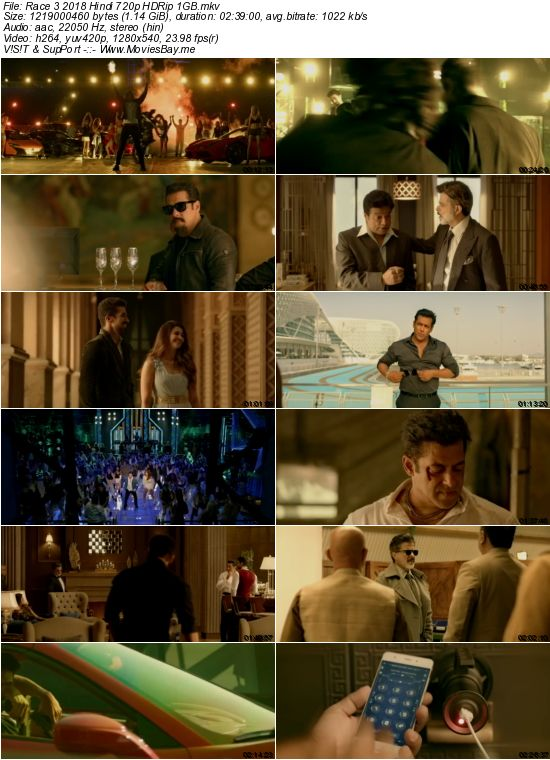 Race 3 2018 Hindi 720p HDRip 1GB worldfree4u