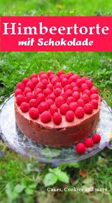 Rezept für Himbeertorte mit Schokolade