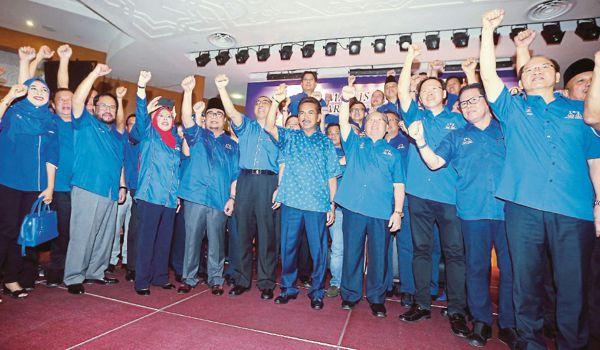 PRU14: Senarai Calon Barisan Nasional Negeri Sabah