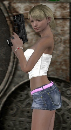 resident evil ashley nackt