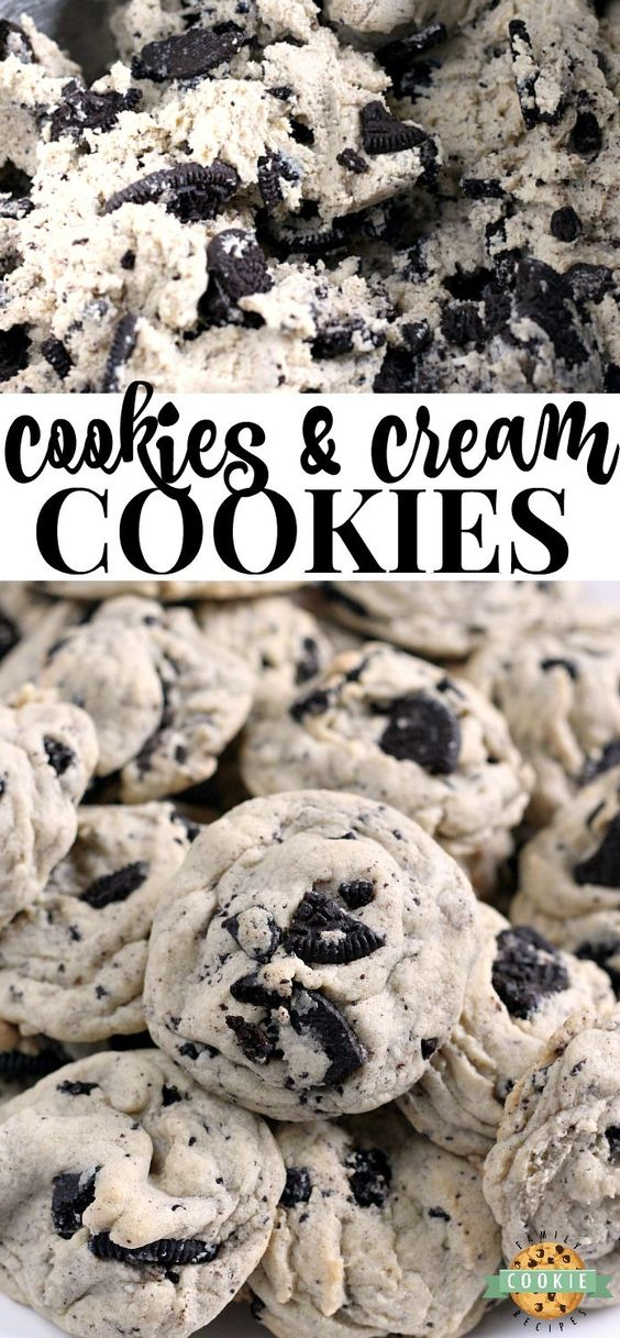 Cookies & Cream Cookies