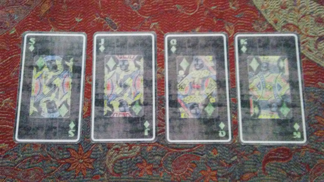 tarot court cards diamonds pentacles