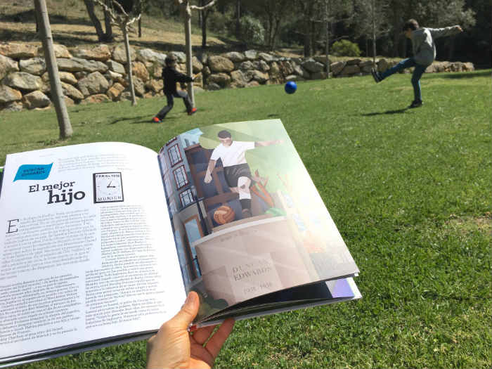 Libro Lo mejor del fútbol, biografía 18 futbolistas fomentar lectura y valores niños