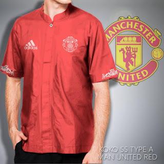 Baju Koko Muslim Manchester United MU Murah