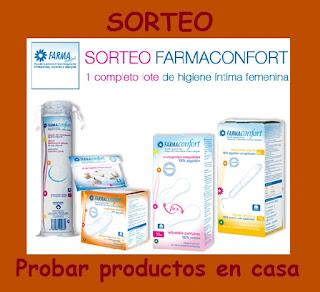 Sorteo lote de productos higiene íntima Farmaconfort