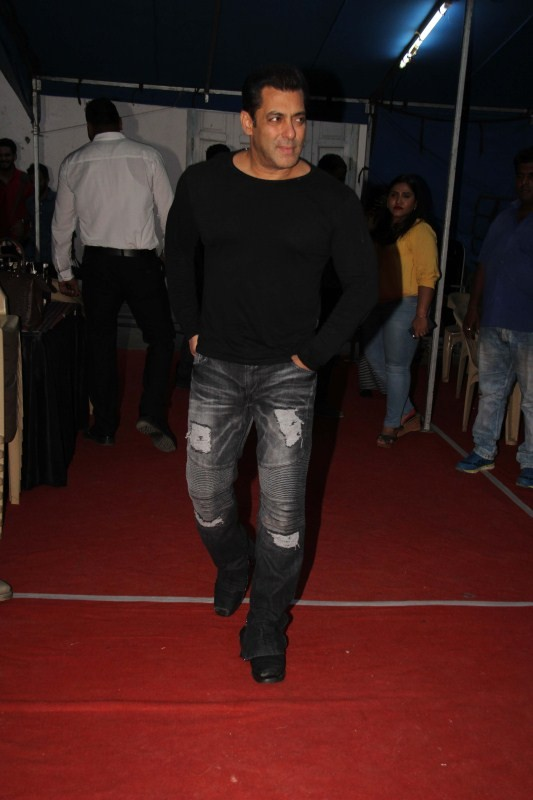 Salman Khan Spotted at Mehboob Studio