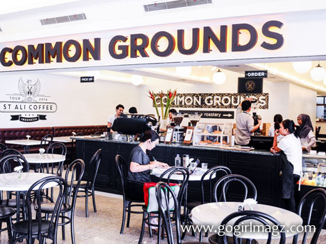 Common Grounds, restoran di sudirman, tempat makan di sudirman