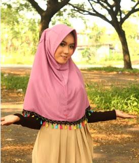 jilbab antem