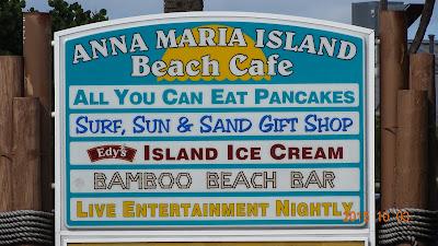 Attraktionen in Manatee Beach auf Anna Maria Island, Florida USA