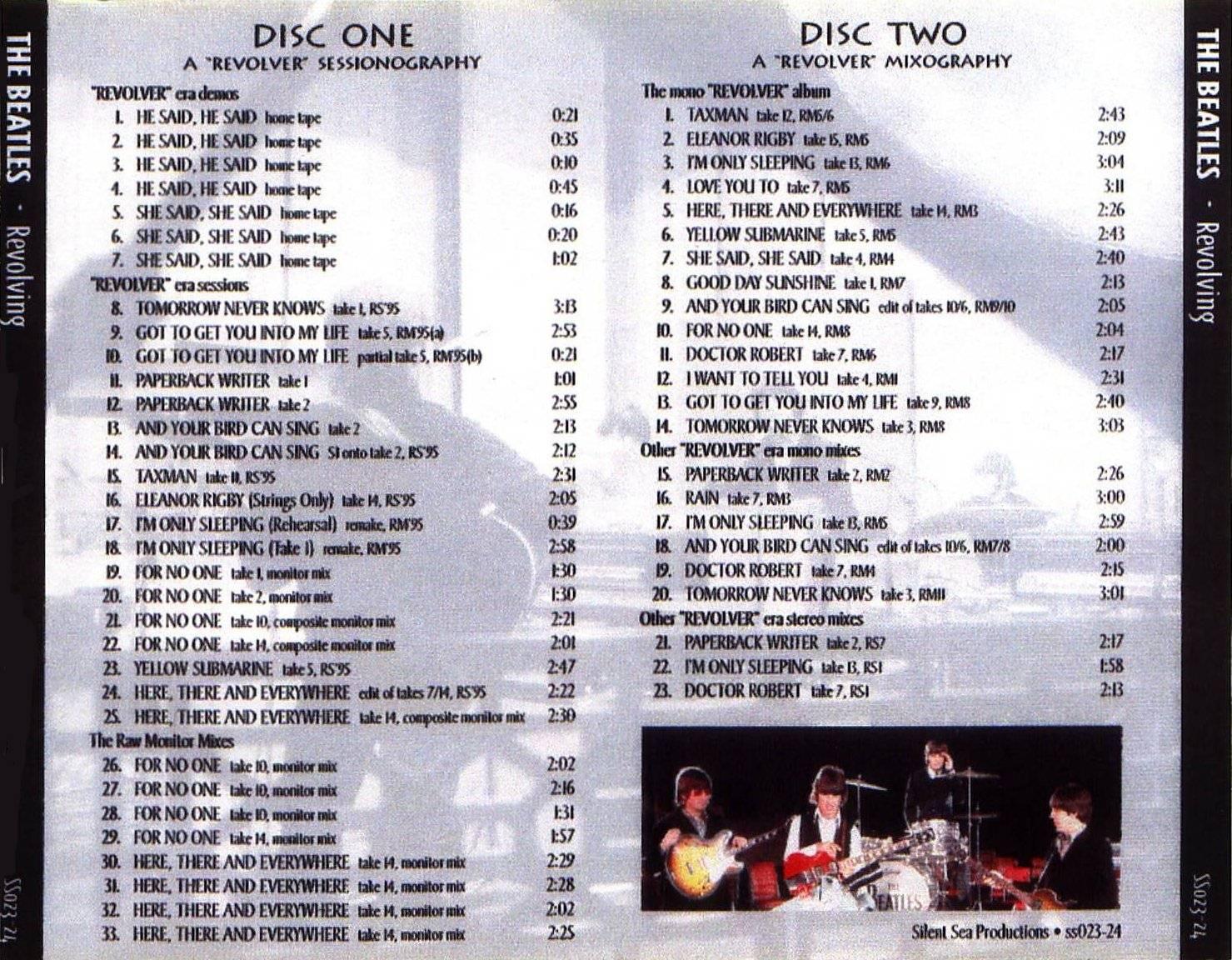 Beatles - Revolving (Revolver Studio Demos And Outtakes