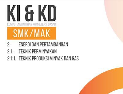 Download Silabus, KI dan KD Bidang Keahlian Energi dan Pertambangan SMK Kurikulum 2013 Tahun 2018