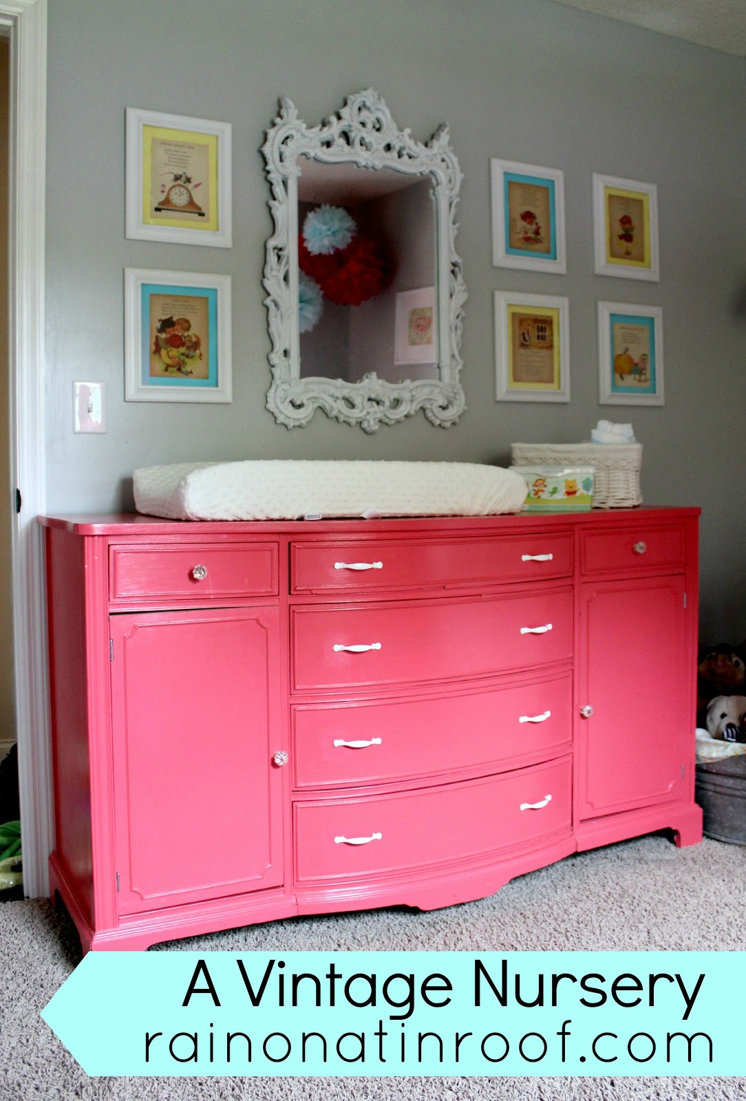 A Vintage Inspired Nursery Makeover