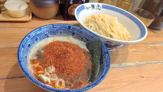 【福岡市グルメ】つけ麺は麺や兼虎をおすすめします!福岡市中央区赤坂