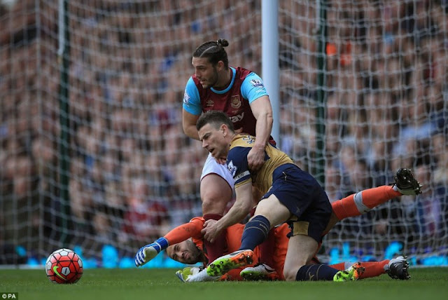 Full Time: West Ham 3-3 Arsenal