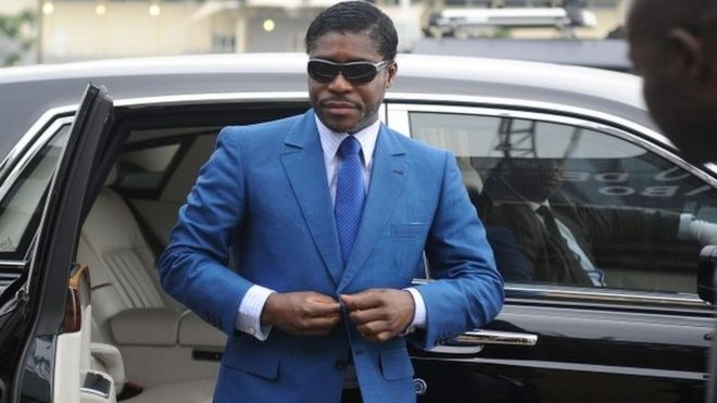 Equatorial Guinea VP Teodorin Obiang sentenced in France