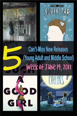What's new for teens this week? Spotlighting five must-have titles for secondary libraries...