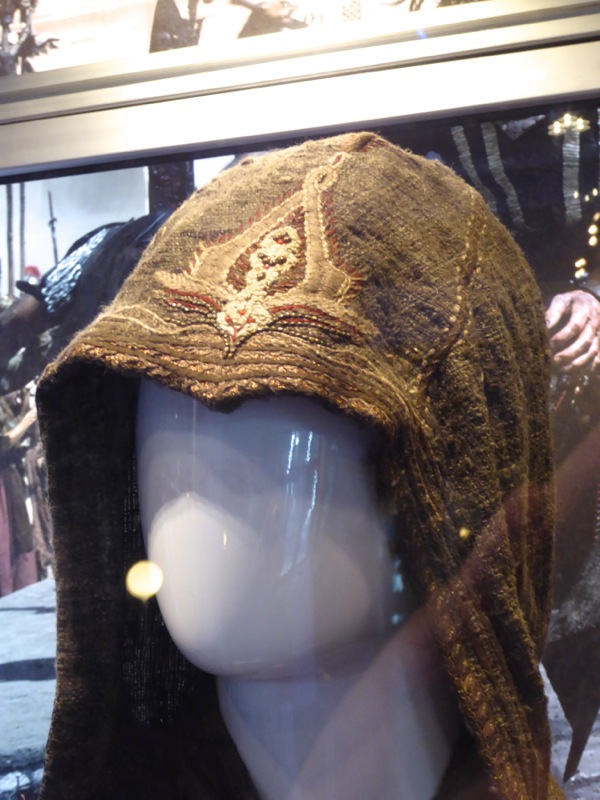 Assassins Creed movie costume hood