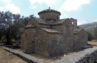 Ναός αγίου Γεωργίου Διασορίτη στο Χαλκί